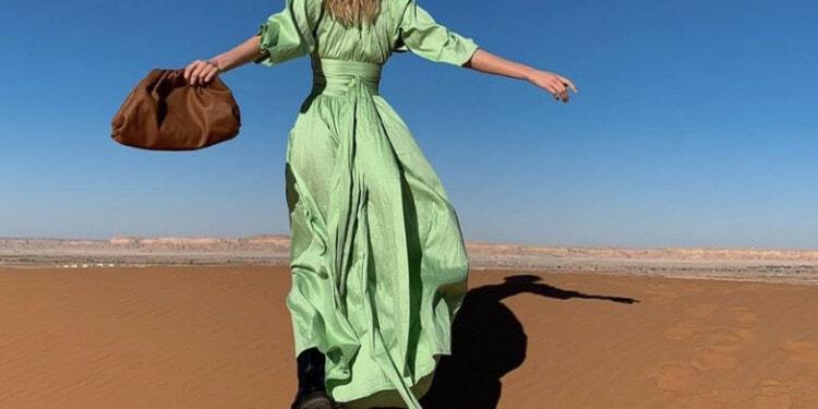 In the photo: Influencer in Saudi Arabia Photo Credit: Elsa Hosk Instagram