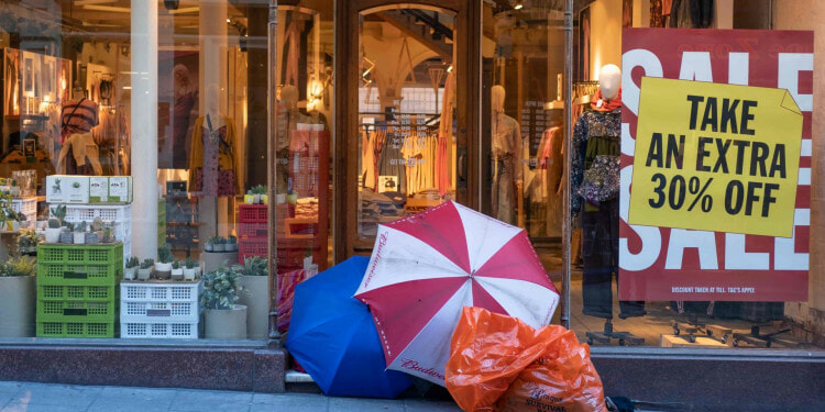 In the photo: Outside Shop