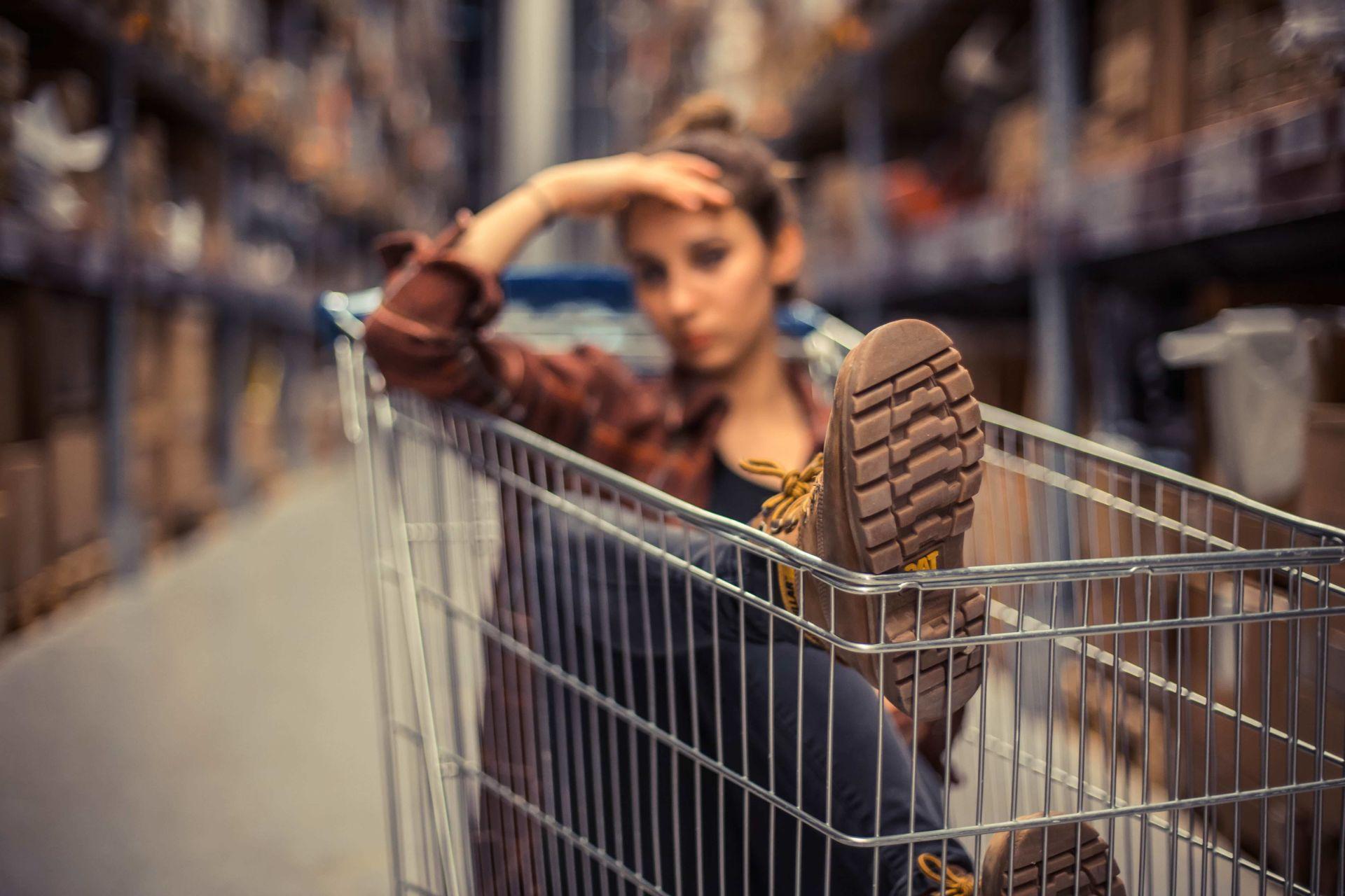 Girl in Trolley