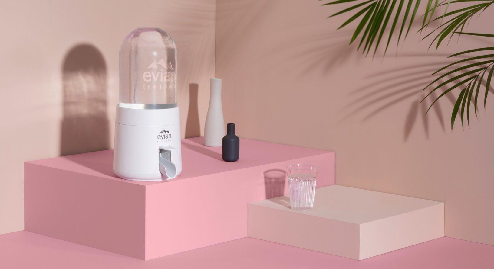 Evian (Re)New Home Water Dispenser