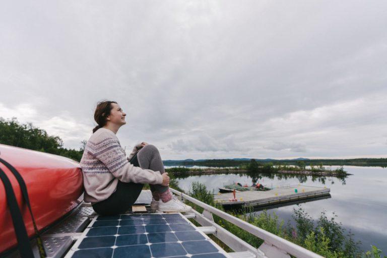 Solar Powered Campervan
