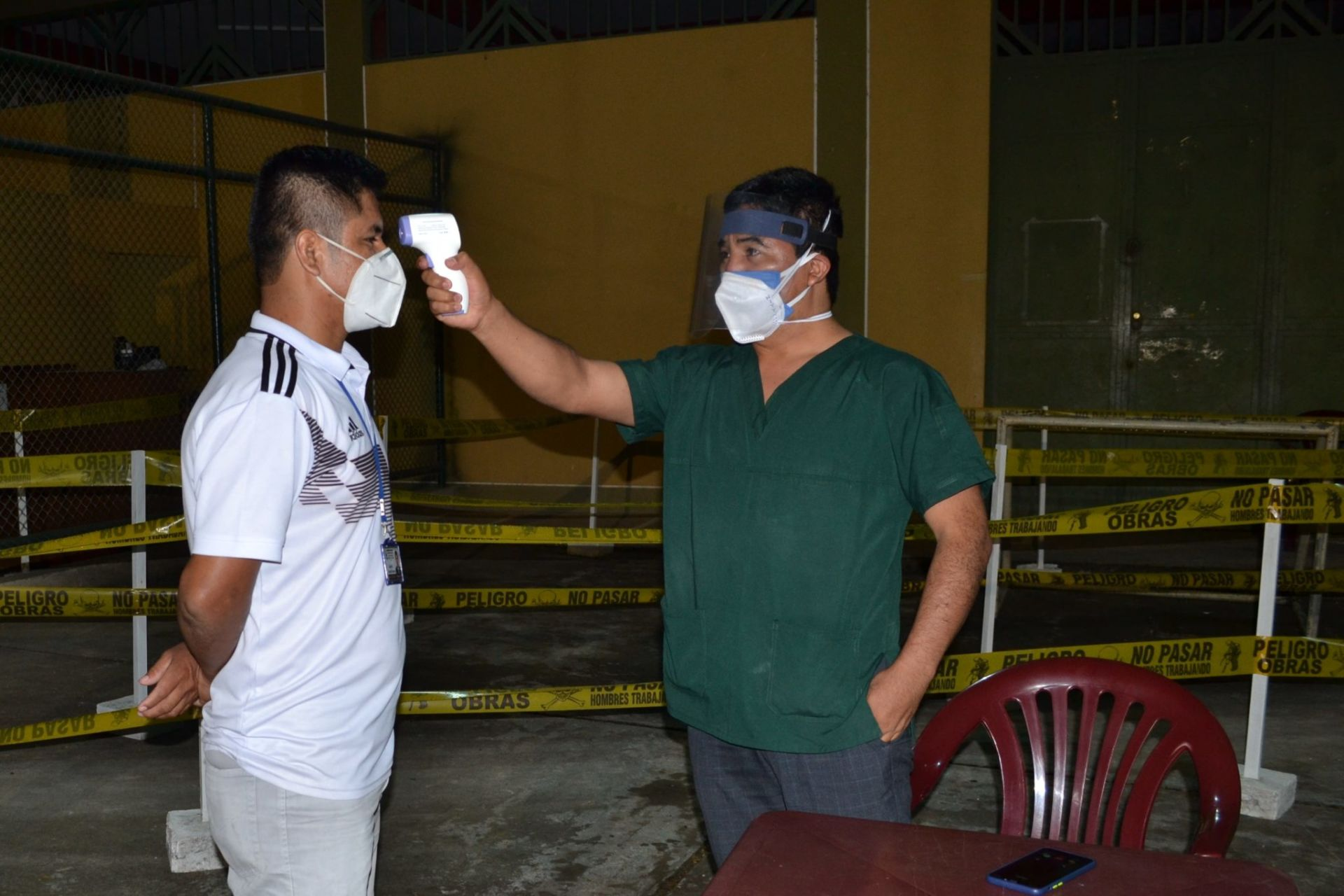 Temperature checks have become standard practice for farmers and employees in coffee growing regions of Peru to slow the spread of COVID-19.