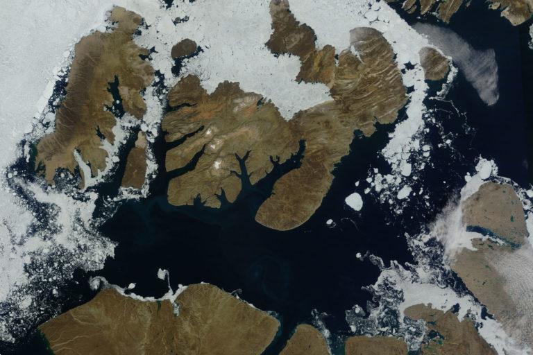 McClure Strait Northwest passage sea ice free