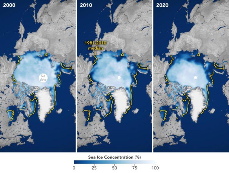 Minimum Arctic Sea Ice Extent
