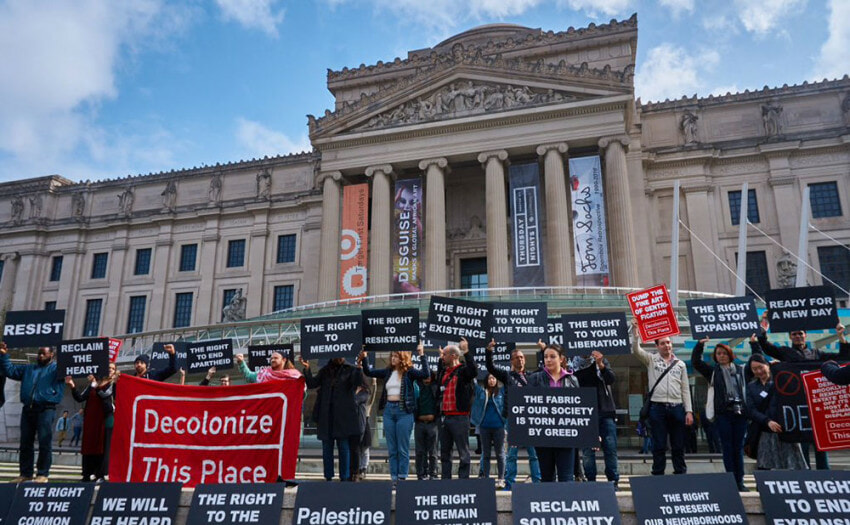 Museum Protests