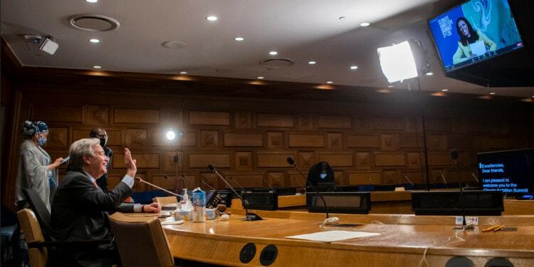 Virtual Climate Ambition Summit 2020