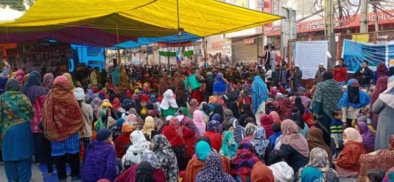Shaheen Bagh sit-in peaceful protest