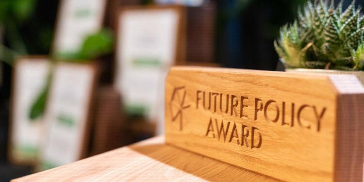 Pressefotos Verleihung des Future Policy Award 2021 - Aufzeichnung der digitalen Verleihung in Hamburg / Germany - 21.06.2021 - Kostenlose Verwendung im Rahmen der redaktionellen Berichterstattung über den Future Policy Award - Nutzung nur mit Namensnennung