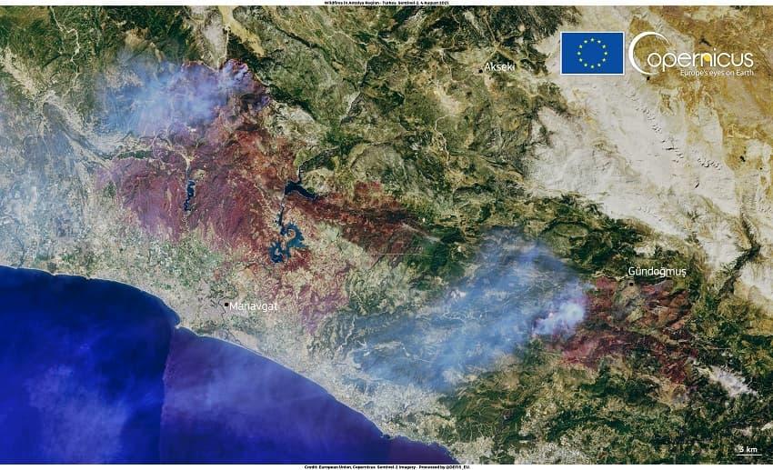 wildfires, Turkey