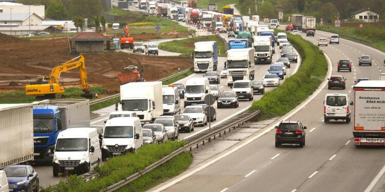 Traffic Jam Brexit