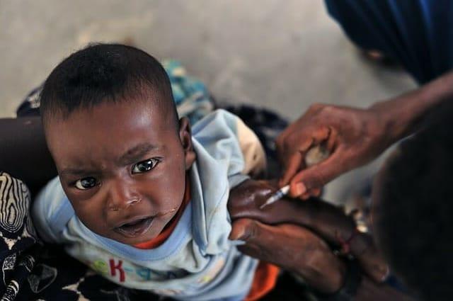 malaria vaccine child
