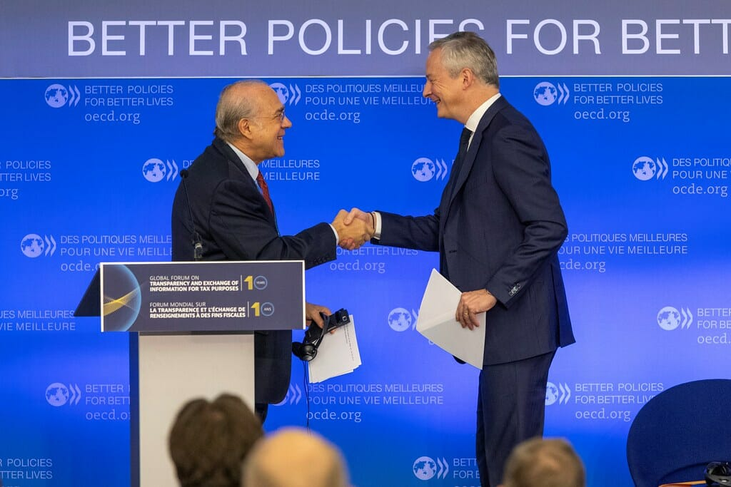 OECD meeting for tax deal